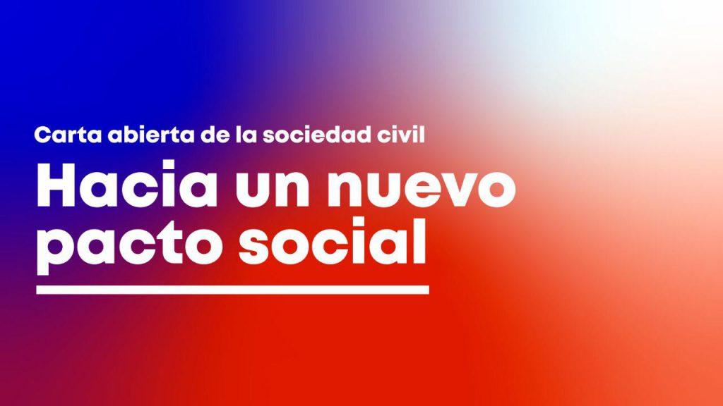 Carta abierta de la Sociedad Civil: Hacia un Nuevo Pacto Social