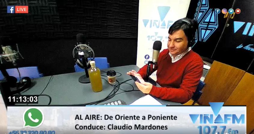 Entrevista en Radio Viña FM