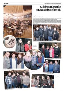 Lanzamiento Campaña Donaciones CLYC-Barbones Bar