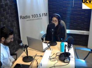 Entrevista a Pablo Fuenzalida en UCV Radio