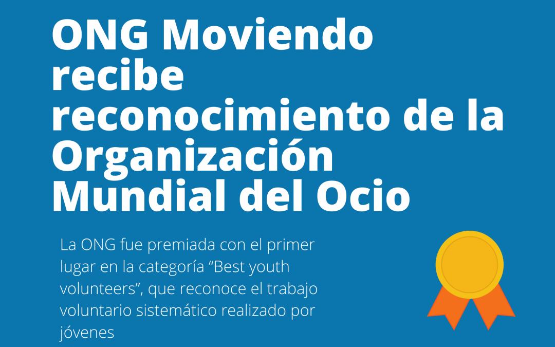 ONG Moviendo recibe reconocimiento de la Organización Mundial del Ocio